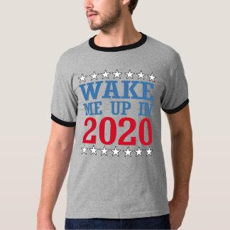 T-shirt Réveillez-moi en 2020 -- Conception d'Anti-Atout -
