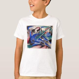 T-shirt Rêver le cheval par Franz Marc