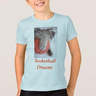 T-shirt Rêves de basket-ball,