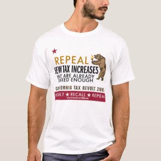 T-shirt Révolte des contribuables de CA - le nouvel impôt