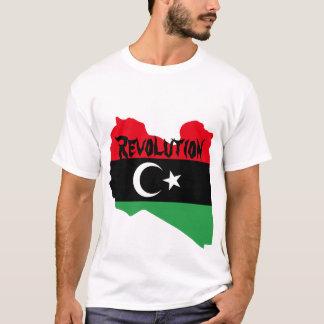 T-shirt Révolution dans la chemise de la Libye