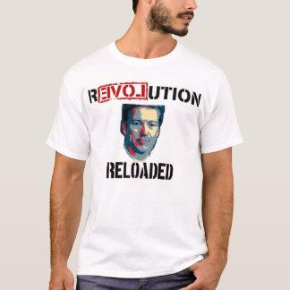 T-shirt Révolution de Paul 2016 de couche-point rechargée