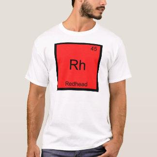 T-shirt Rhésus - Pièce en t drôle rousse de symbole
