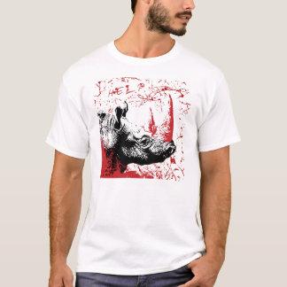 T-shirt Rhinocéros d'aide
