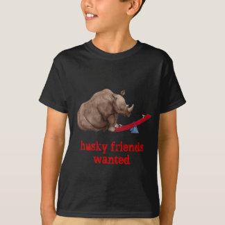 T-shirt Rhinocéros de bascule