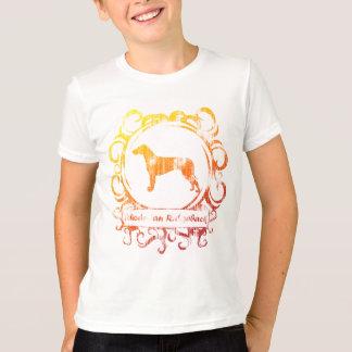 T-shirt Rhodesian patiné chic Ridgeback