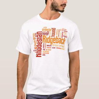 T-shirt Rhodesian Ridgeback