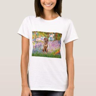 T-shirt Rhodesian Ridgeback 1 - jardin