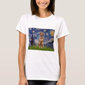 T-shirt Rhodesian Ridgeback 1 - nuit étoilée