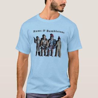 T-shirt rhums et chemise de gladiateur de bumbletons