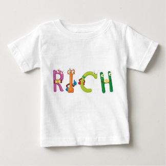 T-shirt riche de bébé