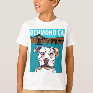 T-shirt Richmond, chien de CA