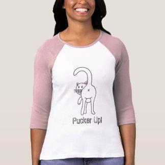 T-shirt Ride ! chemise de chat