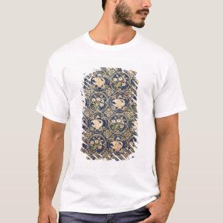 T-shirt Rideau décoré des cygnes et du fleur-De-lys