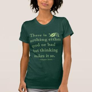 T-shirt Rien l'un ou l'autre le bon mauvais mais