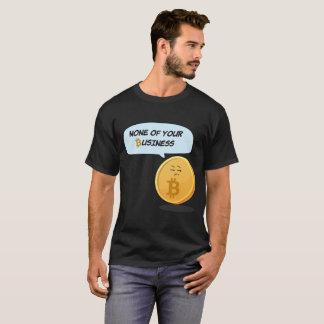 T-shirt Rien votre pièce en t de cadeau d'affaires