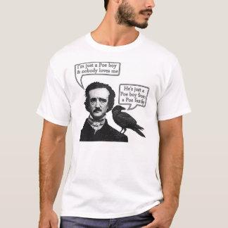 T-shirt Riff d'Edgar Allan Poe sur la rhapsodie de Bohème