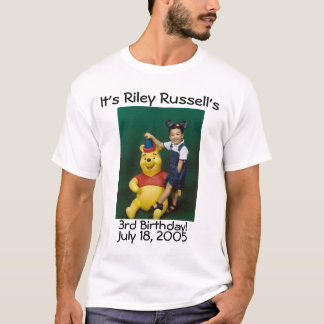 T-shirt riley Russell 3ème