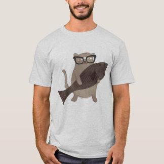 T-shirt ringard mignon de chat