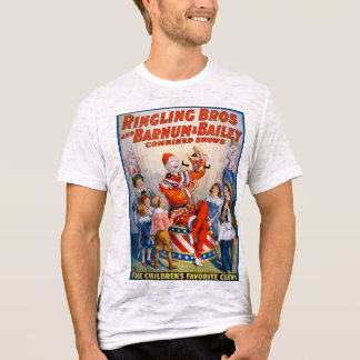 T-shirt Ringling vintage Bros - Barnum et exposition de