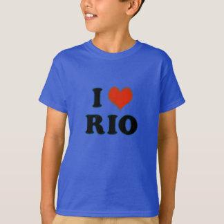 T-shirt Rio de Janeiro - amour Rio d'I