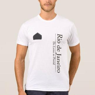 T-shirt Rio de Janeiro - du gouvernail au Pontal