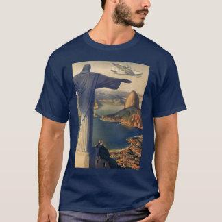 T-shirt Rio de Janeiro vintage, le Christ la statue de
