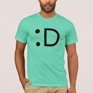 T-shirt Rire d'émoticône