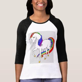 T-shirt rires bébêtes et arcs-en-ciel