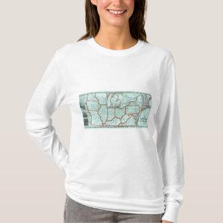 T-shirt Rivage de lac et chemin de fer du sud du Michigan