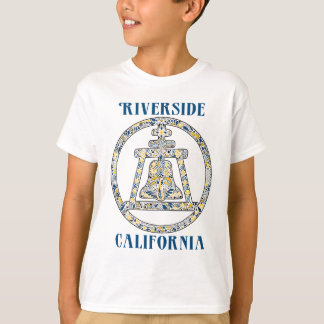 T-shirt Rive, la Californie Raincross
