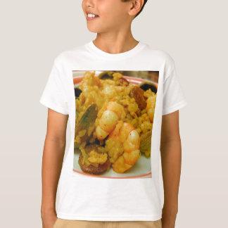T-shirt Riz de saucisses de palourdes de crevette de