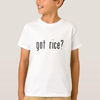 T-shirt riz obtenu ?