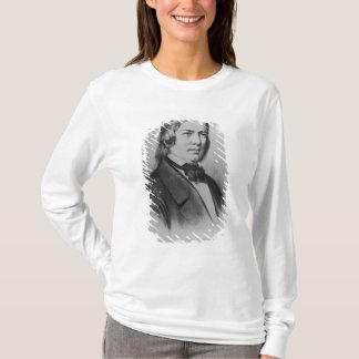 T-shirt Robert Schumann a gravé d'une photographie