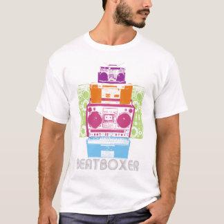 T-shirt robot de 80s BeatBoxer