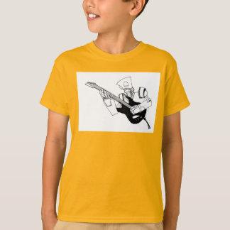 T-shirt robot de rock