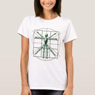 T-shirt Robot de Vitruvian