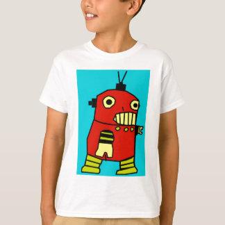 T-shirt Robot rouge