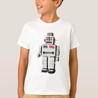 T-shirt robot vintage