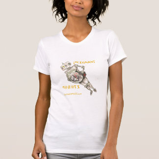 T-shirt Robots enceintes - femelle (détruite)