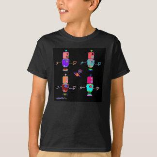 T-shirt Robots foncés
