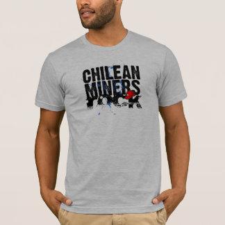T-shirt Roche chilienne de mineurs
