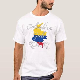 T-shirt Roche colombienne de filles !