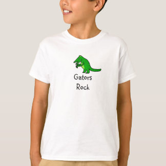 T-shirt Roche d'alligators