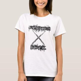 T-shirt Roche de cannelures !