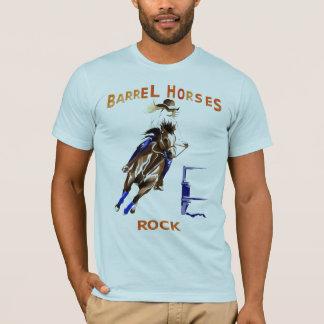 T-shirt Roche de chevaux de baril