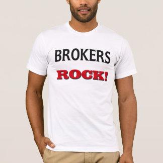 T-shirt Roche de courtiers