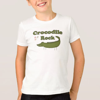 T-shirt Roche de crocodile