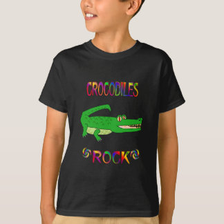 T-SHIRT ROCHE DE CROCODILES