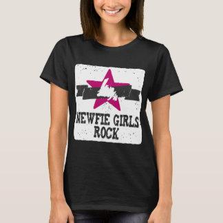 T-shirt Roche de filles de Newfie